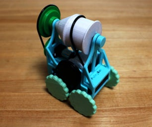 PulleyBot: a Pulley Driven Robot