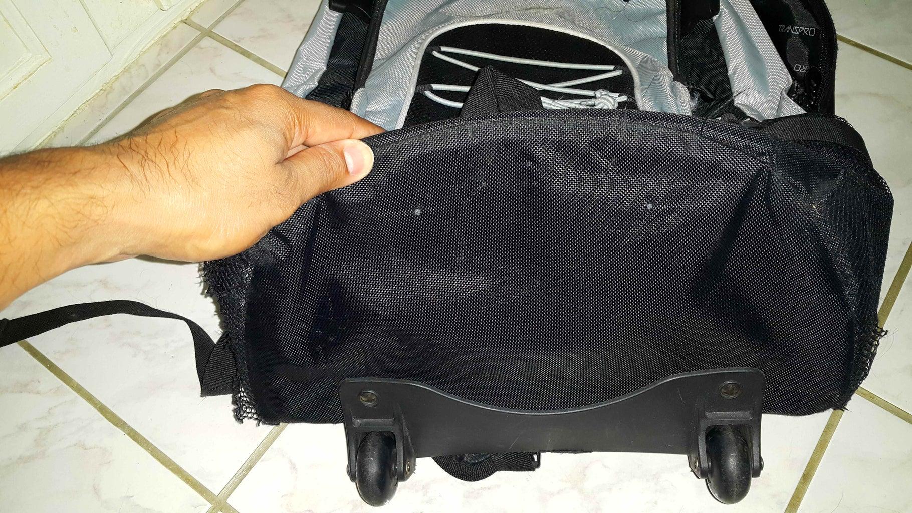Fixing a Travel Bag.