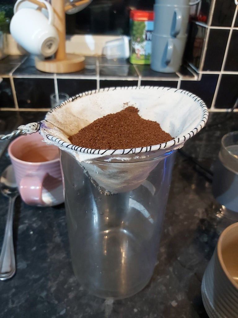 Flat-pack Pour-over Coffee Filter