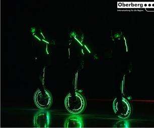 Unicycle LED Lightshow
