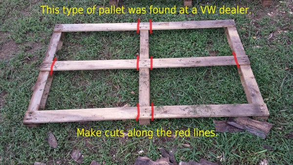Firewood Storage Rack From a Pallets... Super Simple