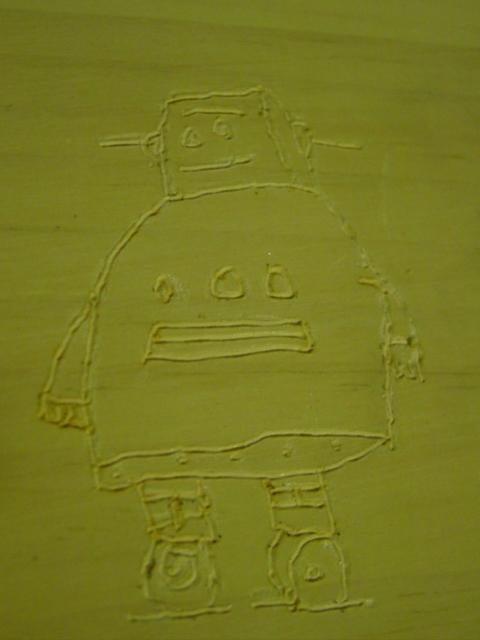 How to Etch the Instructables Robot Onto Wood or Anything Else!