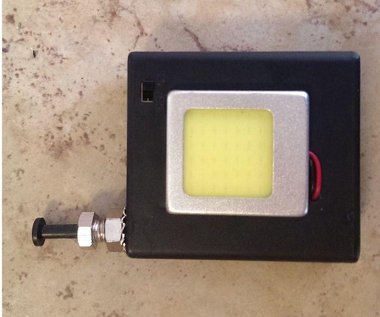Portable LED glove box illuminator
