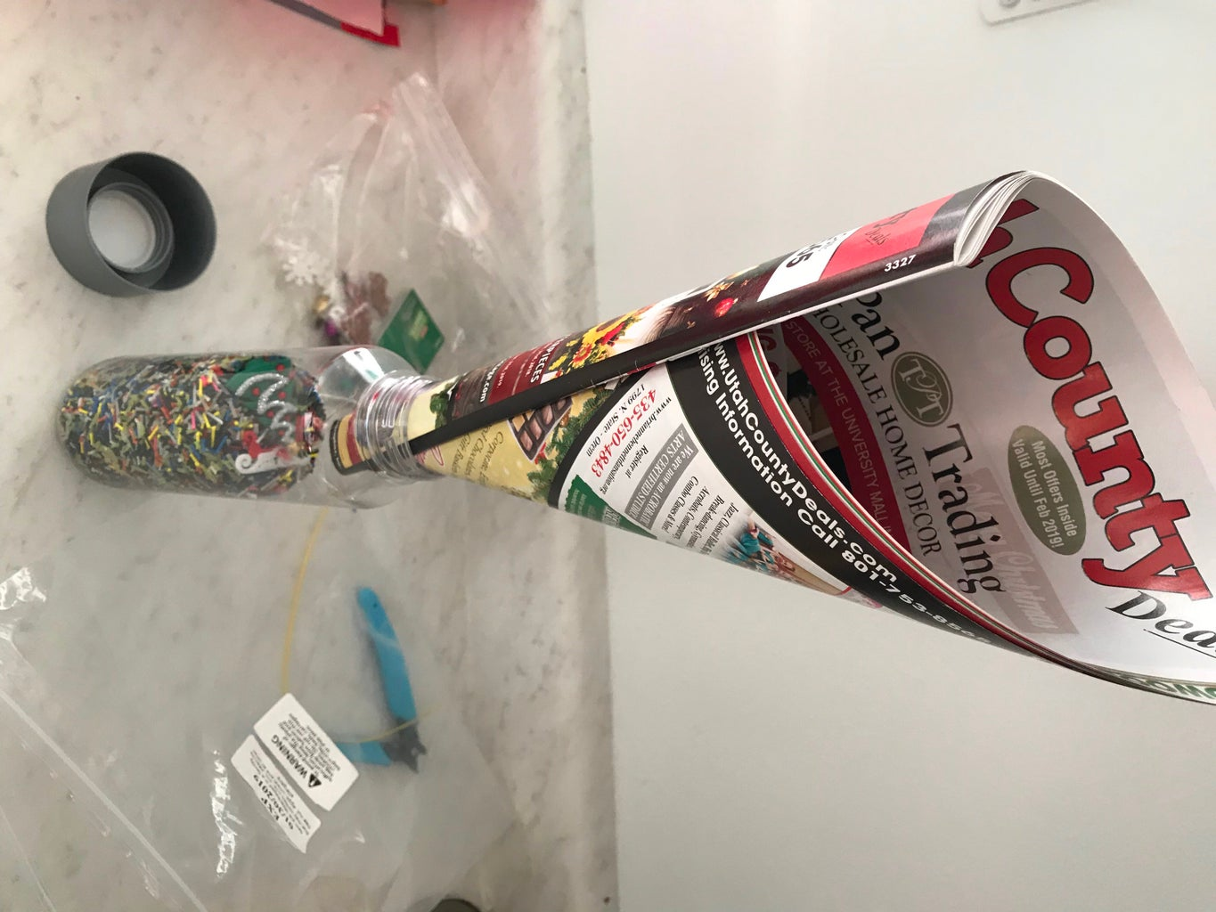 Adding Clipped Strings to Bottle