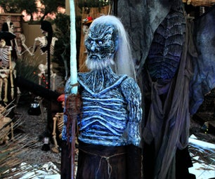 Game of Thrones White Walker Halloween Standing Decoration