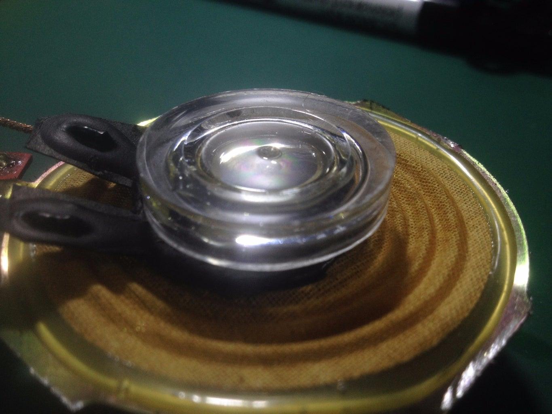 Prepare and Glue the Plastic Disk
