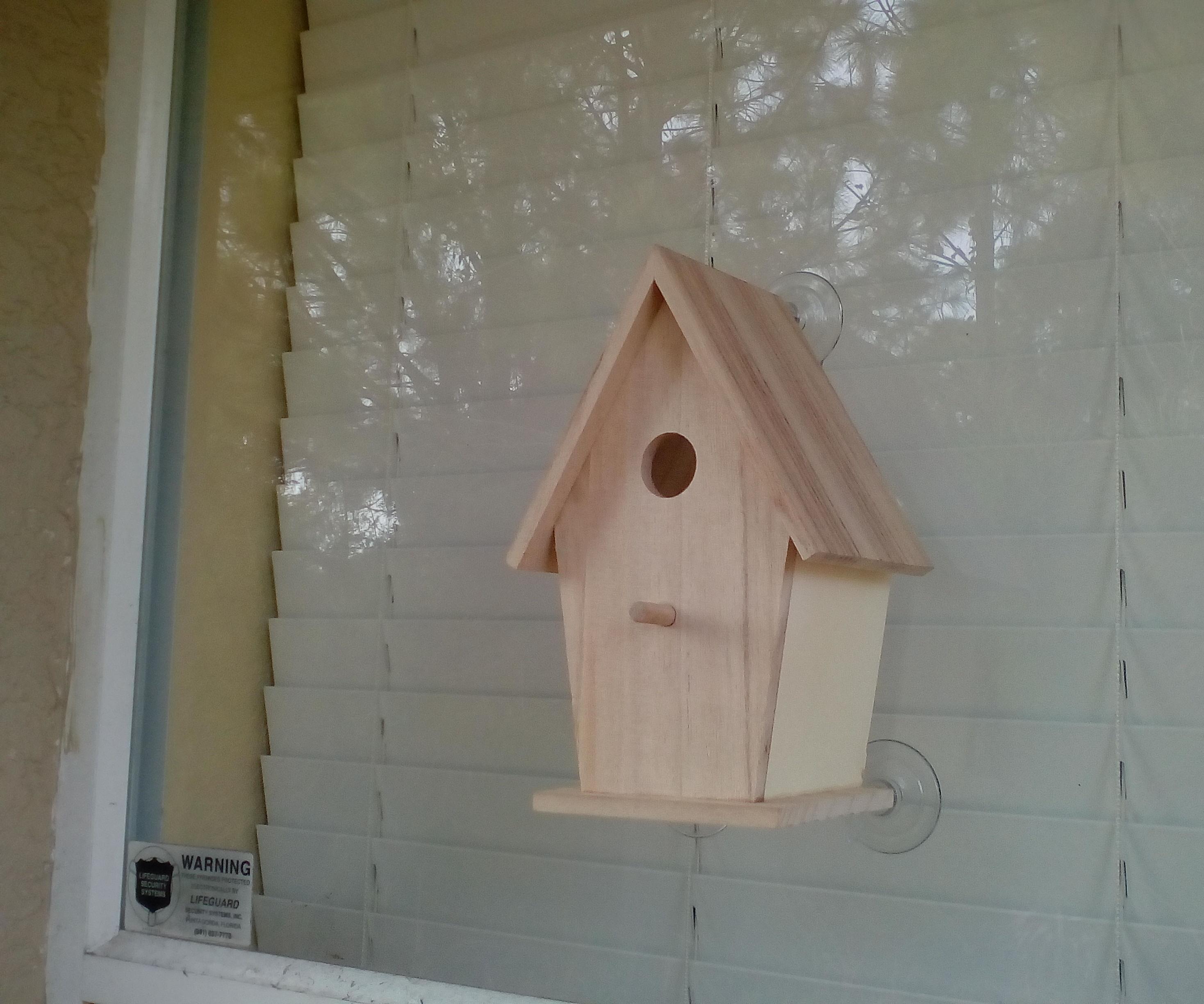 Bird Watcher Birdhouse