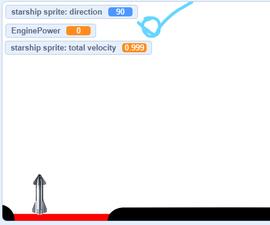 2d Rocket Landing Sim
