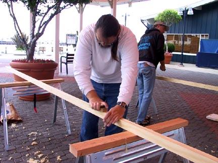 Build a Greenland kayak part 2
