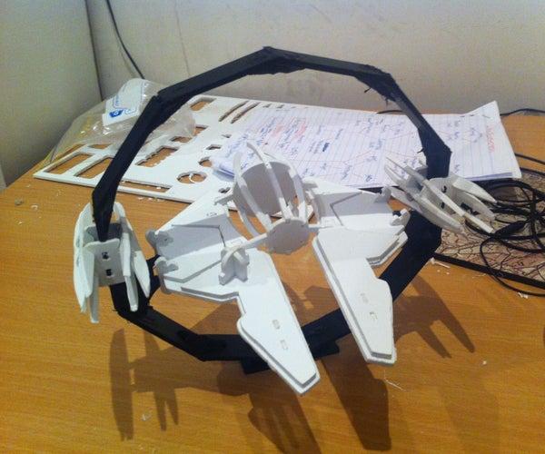 Flat Pack Jedi Starfighter