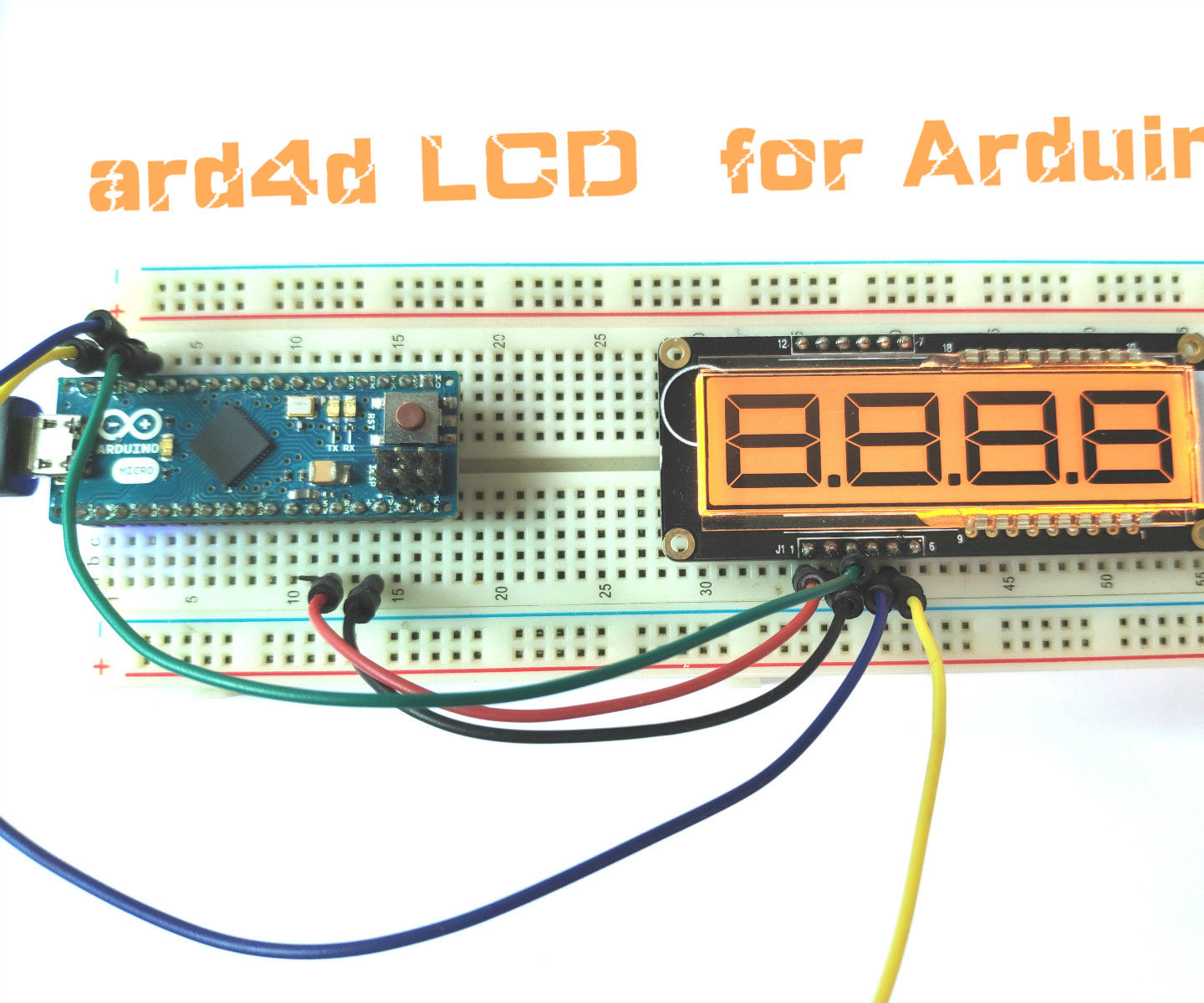 How to Use Arduino Segment   LCD  Module  to Make a Timer