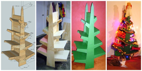 Christmas Tree Shelves