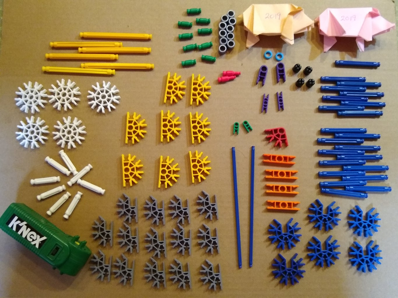 Here Are All the Parts You Will Need