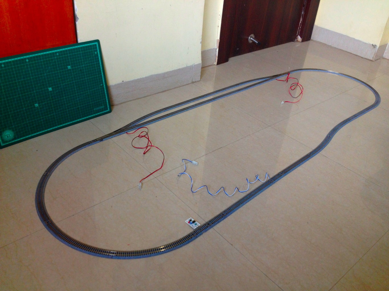 Lay the Tracks and Make the Layout