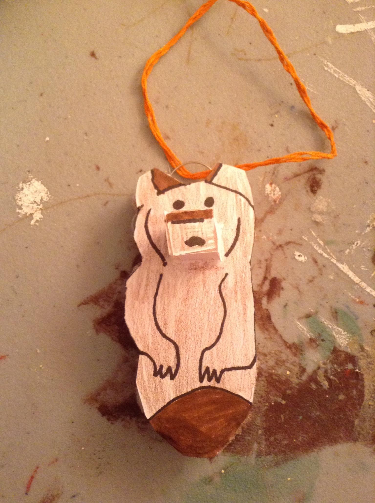 Brother Bear Totem Prop