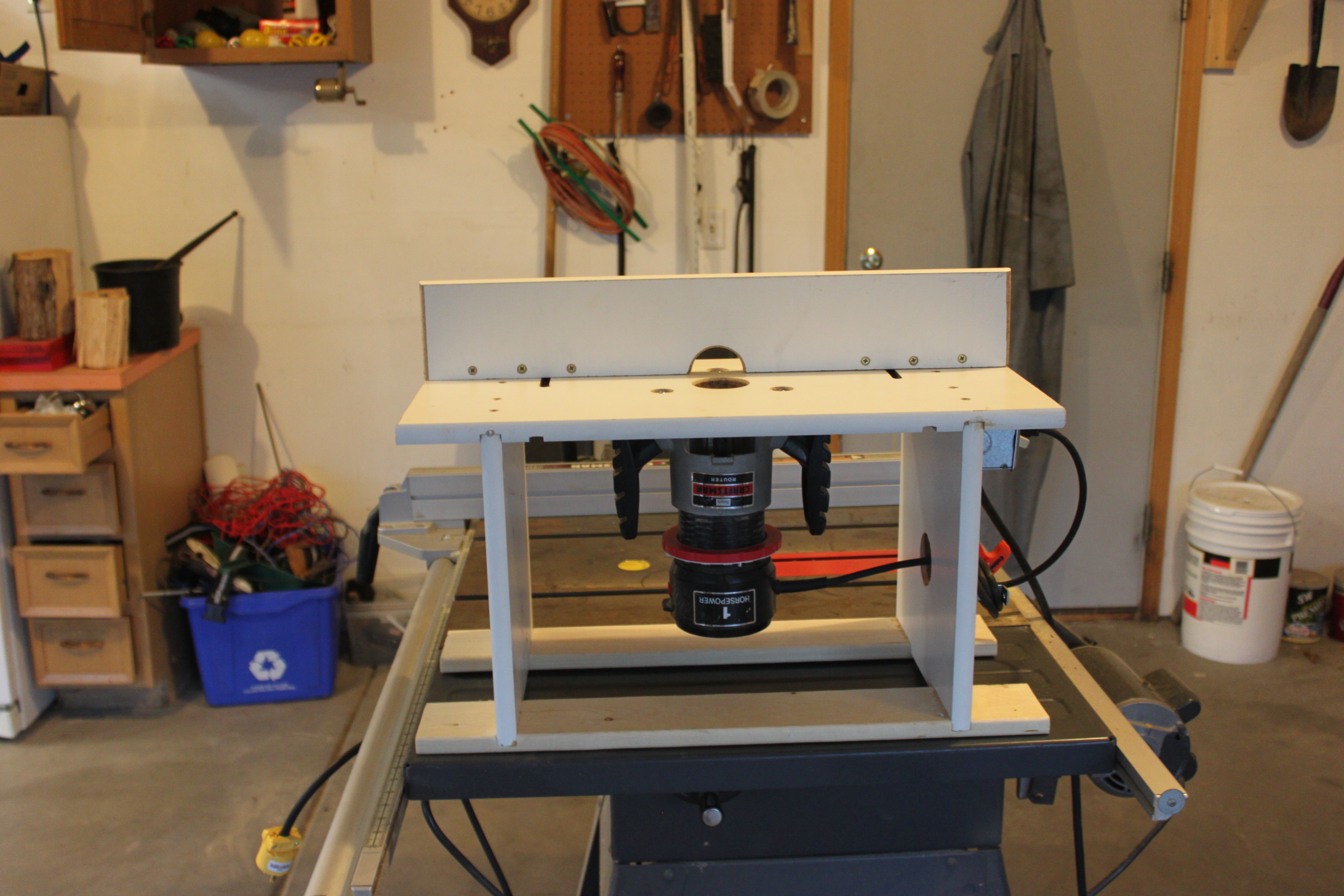 Custom Router Table