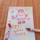 Diy White Board for Kids