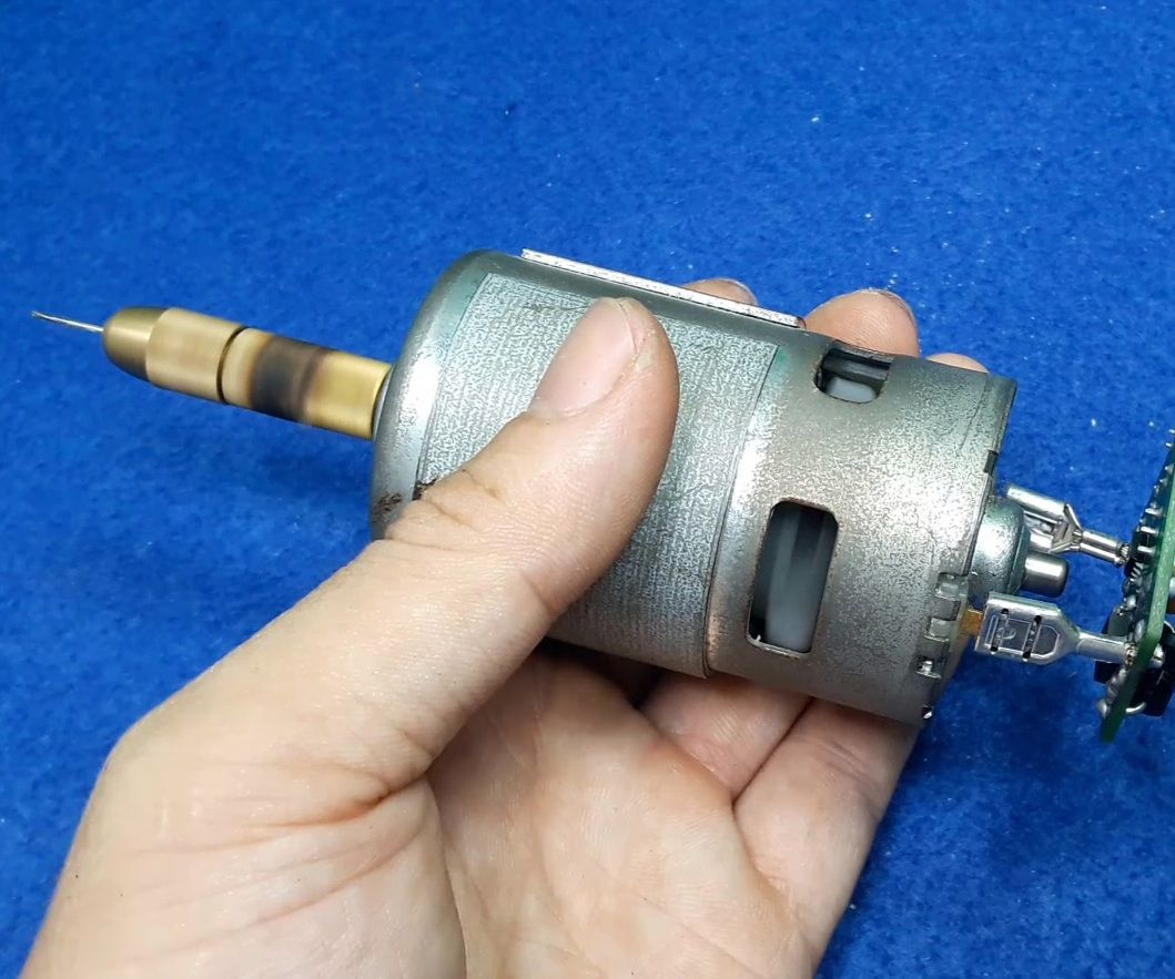 DC Motor Speed Controller With Mini Circuit