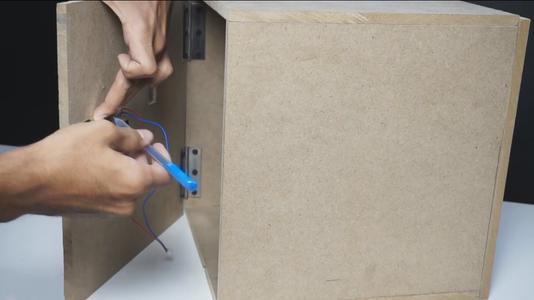 Make Place for Sensors & Lock