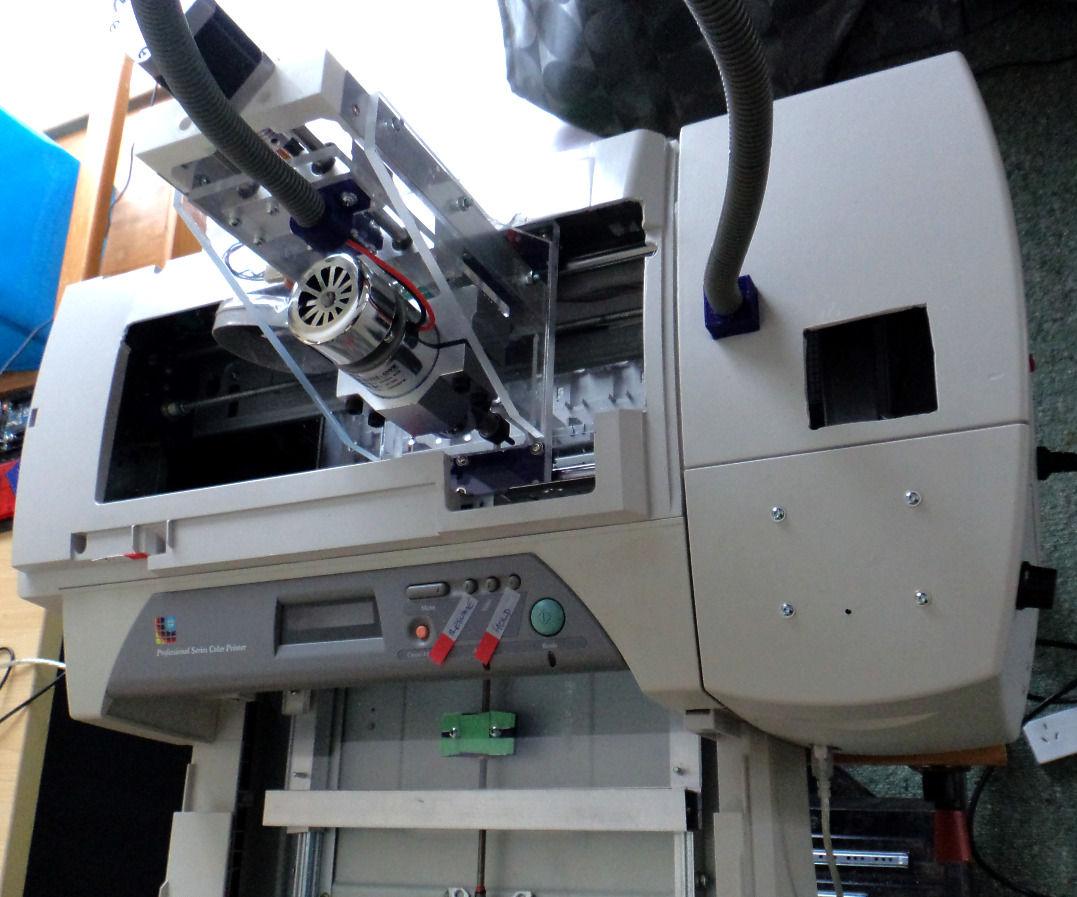 CNC Machine from Inkjet Printer