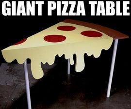 巨型比萨饼桌
