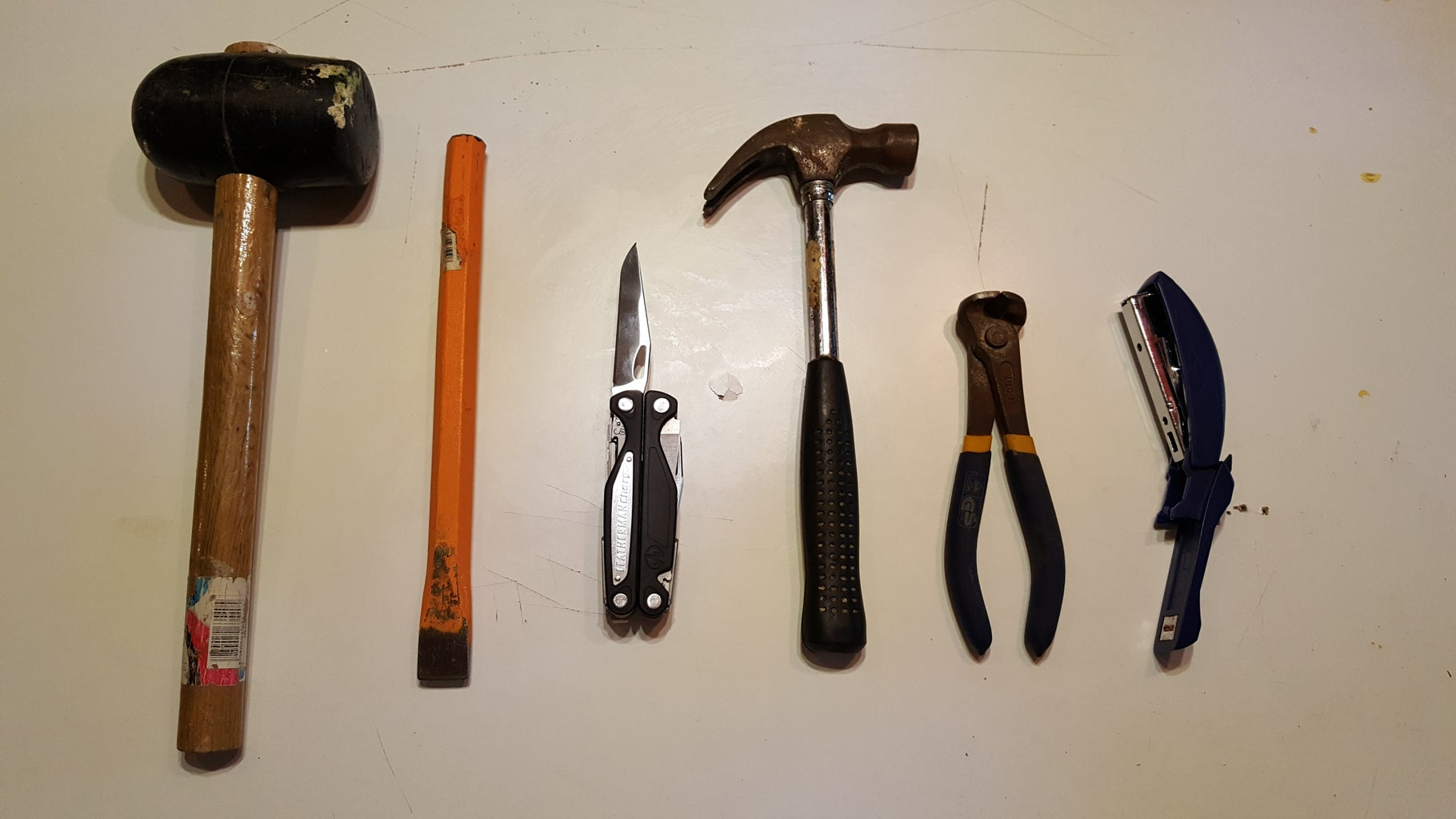 Components and Tools Needed
