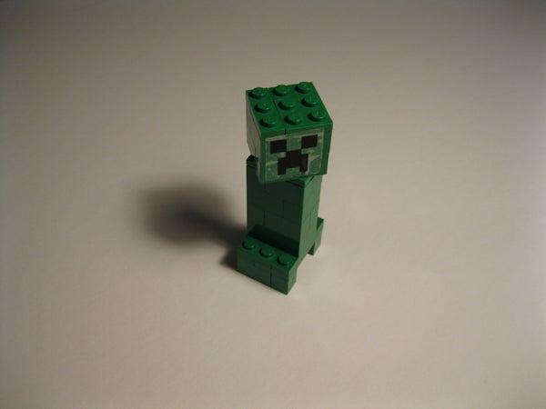 LEGO Creeper   ( Minecraft )