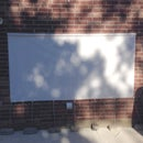 Affordable Outdoor Movie Screen for under $50