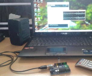 TV REMOTE CONTROLLABLE COMPUTER MP3 PLAYER USING ARDUINO AND PROCESSING
