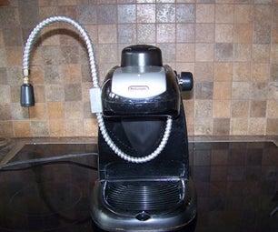 Convert Espresso Machine to Steamer