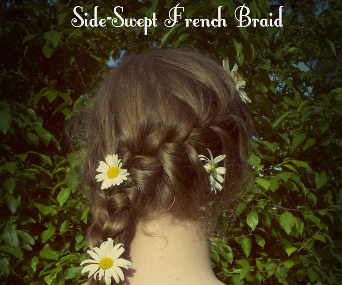 Summer Side-Swept French Braid
