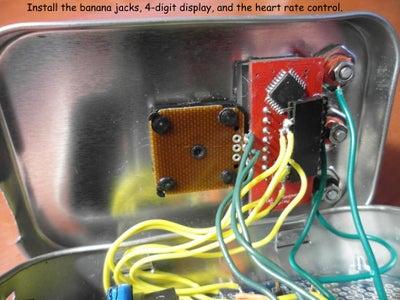 Install the Banana Jacks and the Potentiometer
