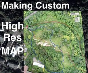 制作自定义高分辨率正射马赛克地图