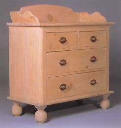 Colonial Washstand 1760 Plan + Step-By-Step Woodworking Plans!