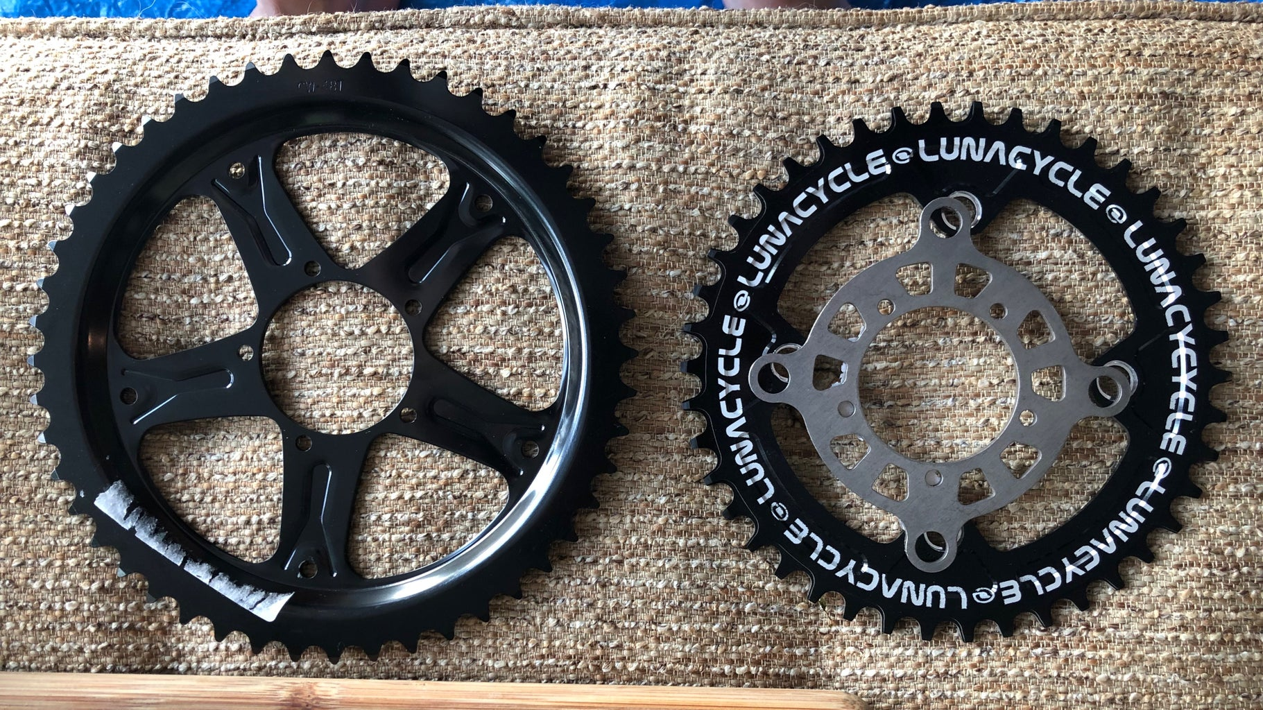 Fit the Chainring to the Motor