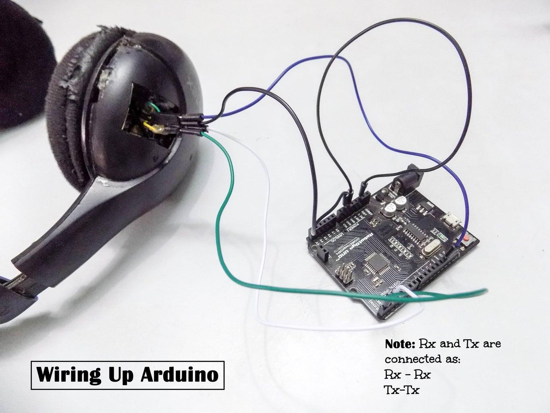 Wiring the Bluetooth Board(Arduino Method)