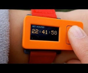 M5StickC Cool Looking Watch With a Menu and Brightness Control