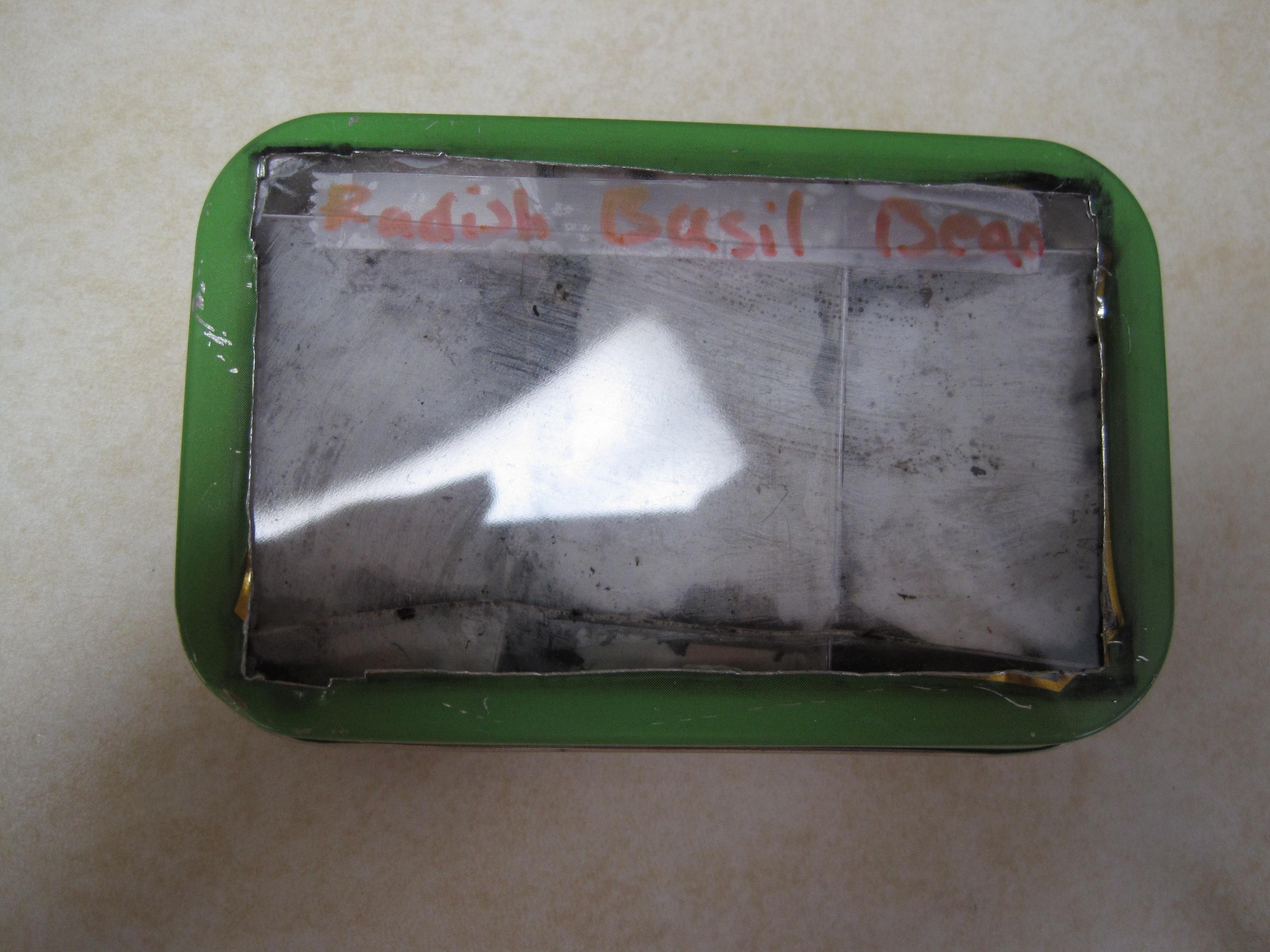Mini Pocket seed-starter!