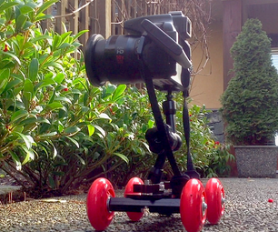 Motorized Video Pico Dolly With Canon SX 50 HS