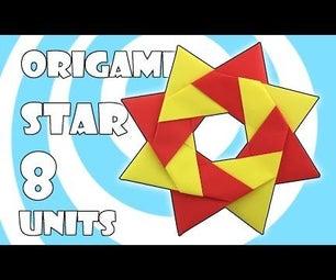 Modular Origami Robin Star Tutorial