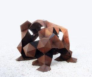 Parametric Metal Sculpture • System: Material & Performance •