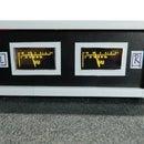 DIY Arduino Analog Style Stereo VU Meter on I2C Oled Displays