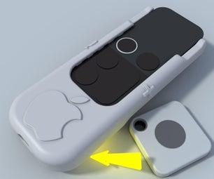 Apple TV Siri遥控硬壳,带蓝牙瓷砖查找器