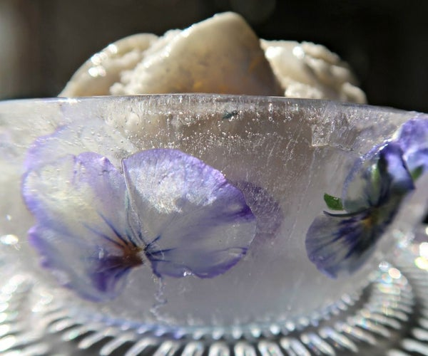 How to Make Easy Ice Bowls