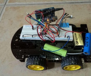 Arduino Car With L293D and Remote Control