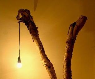 Lámpara De Rama De Árbol