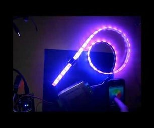 RGB Led STRIP Control Arduino Android BLUETOOTH - SMD5050