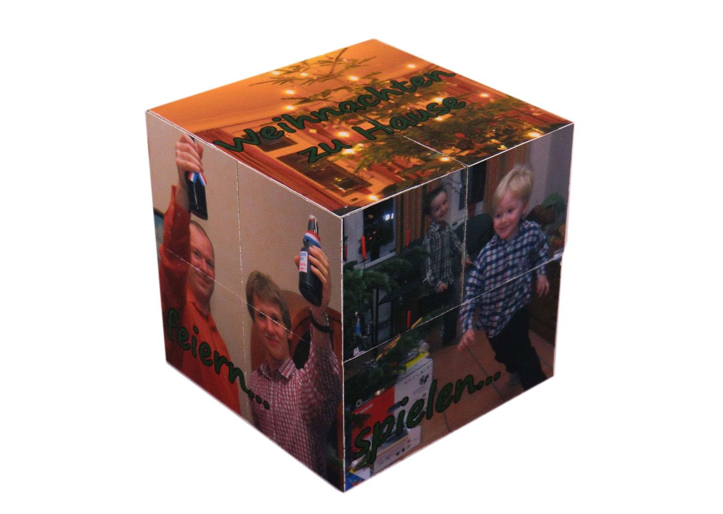 Magic Folding Photo Cube