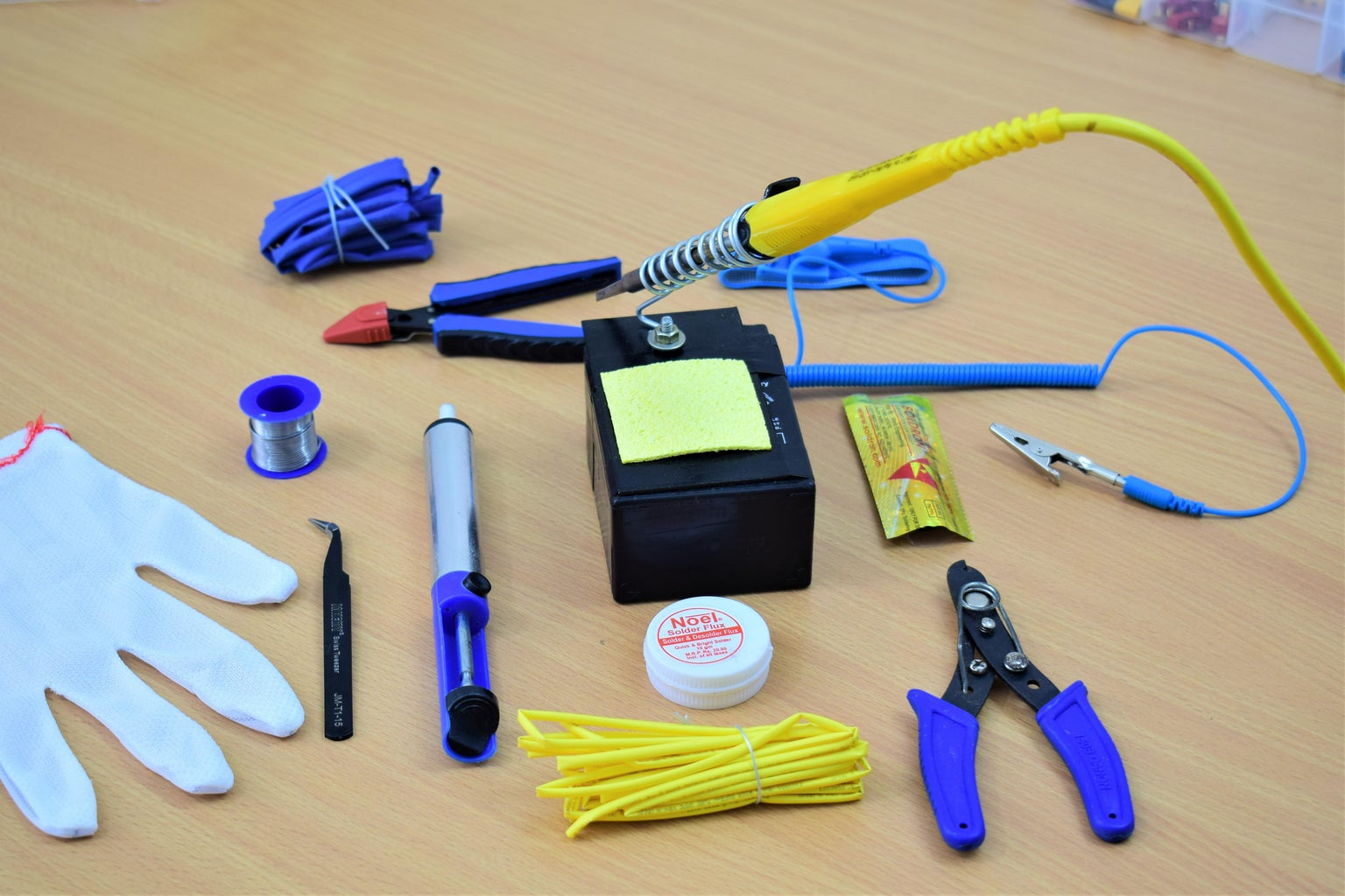 THE SUGGESTED TOOLS