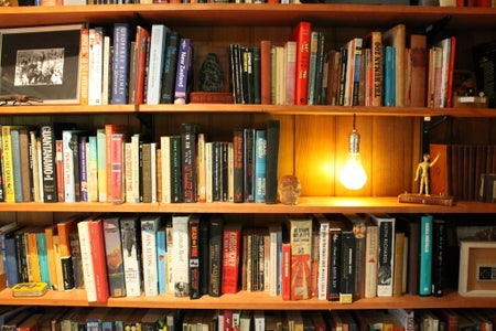 Attaching the Switch to the Bookshelf